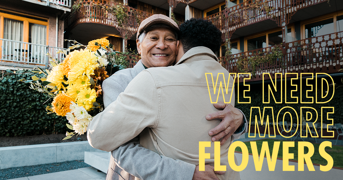 We Need More Flowers campaign 2021