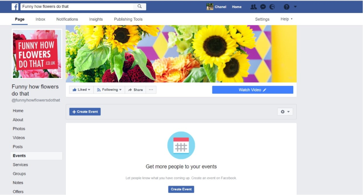 Facebook Events & Offers