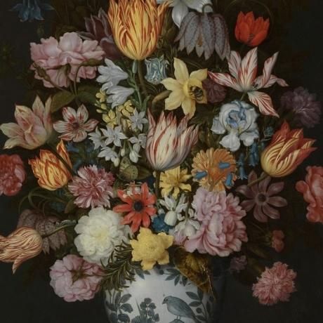 Funnyhowflowersdothat.co.uk  Copyright: A Still Life of Flowers in a Wan-Li Vase,1609-10 © The National Gallery, London