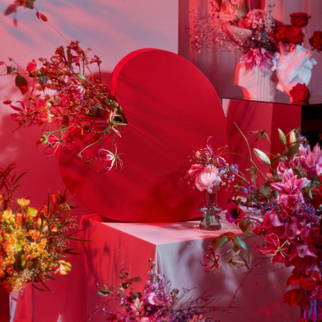 Valentine's love in every possible form on Funnyhowflowersdothat.co.uk