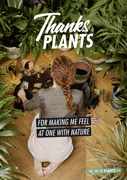 "Thanks Plants ""Reconnect with Nature"""