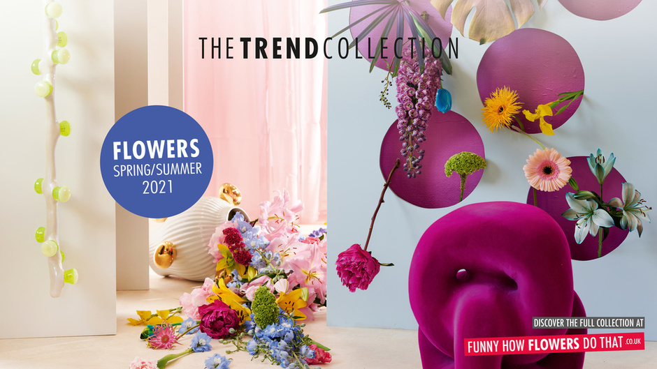 The Trend Collection Spring/Summer 2021 | TV screen | Flower Collection