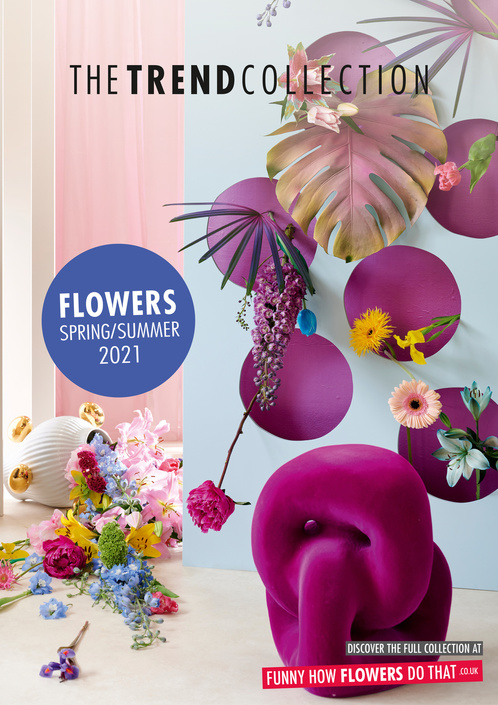 The Trend Collection Spring/Summer 2021 | Poster | Flower Collection