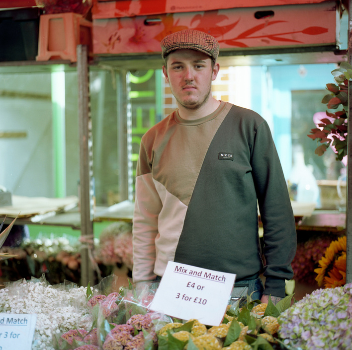 Trader - Columbia Road Flower Market -Funnyhowflowersdothat.co.uk