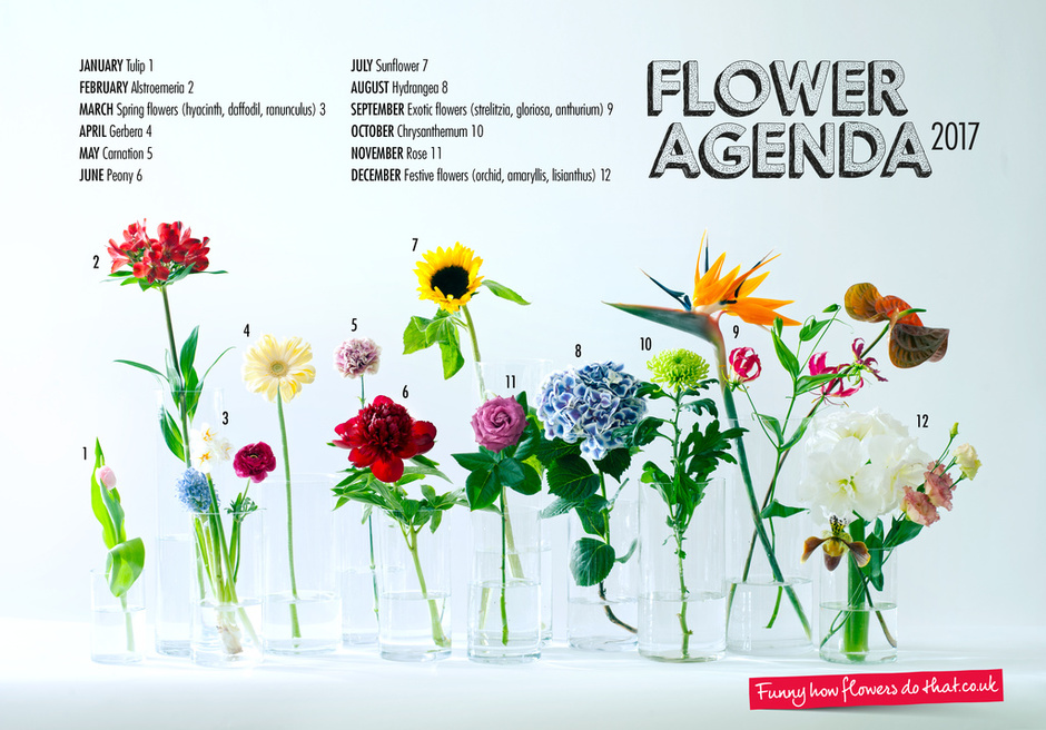 Flower Agenda 2017 Announced