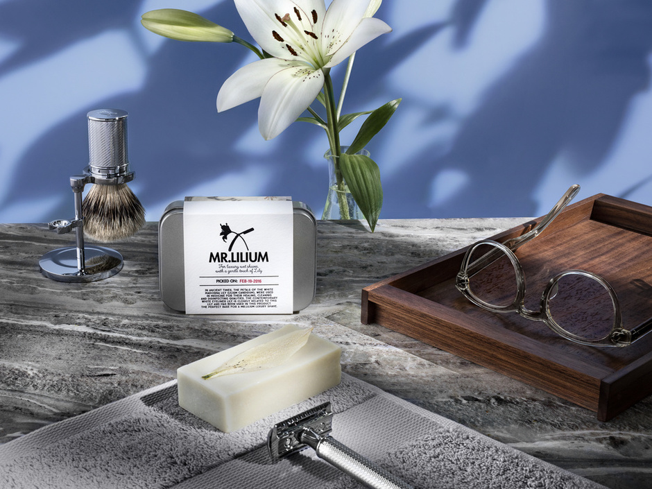 Funnyhowflowersdothat.co.uk introduces MR.LILIUM shaving soap