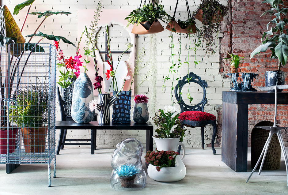 Stijltrend Punk Rebooted_indoor_Bloemenbureau Holland